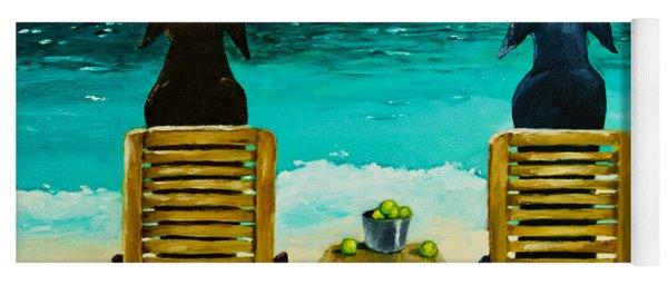 Beach Bums Yoga Mat