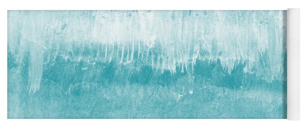 Beach Day Blue- Art By Linda Woods Yoga Mat