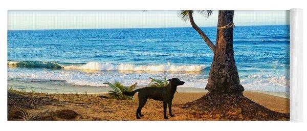 Beach Dog  Yoga Mat