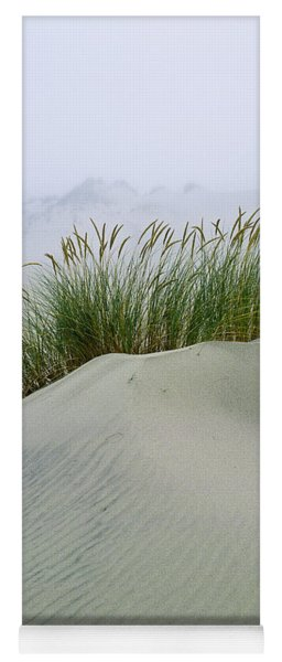 Beach Grass And Dunes Yoga Mat