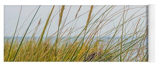 Beach Grass Yoga Mat