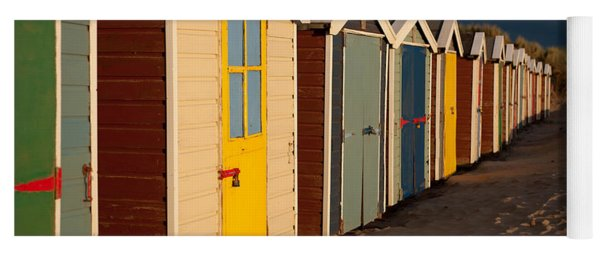 Beach Huts II Yoga Mat