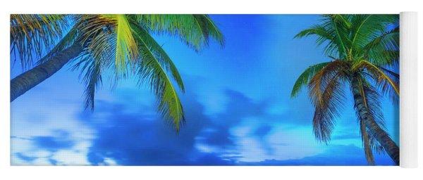 Beach Landscape Yoga Mat