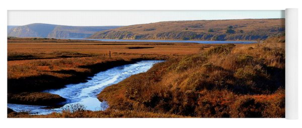 Yoga Mat featuring the photograph Beach Marsh by Eyes4Nature