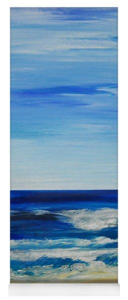 Beach Ocean Sky Yoga Mat