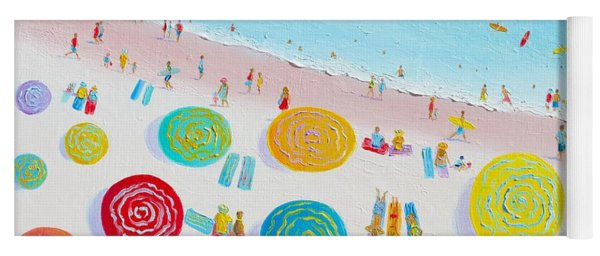 Beach Painting - The Simple Life Yoga Mat