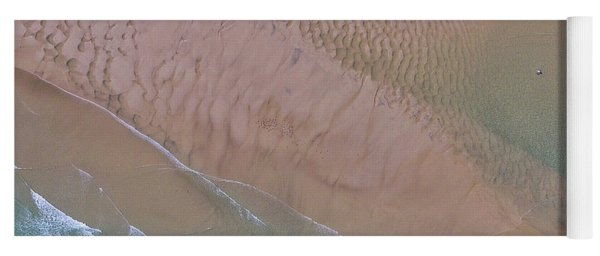 Beach Patterns At North Point On Moreton Island Yoga Mat