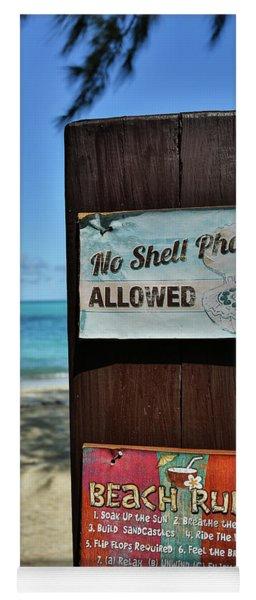 Beach Rules Yoga Mat