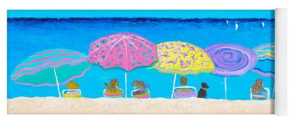Beach Sands Perfect Tans Yoga Mat