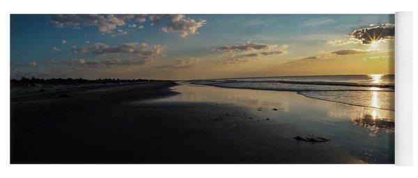 Beach Sunrise At Jekyll Island  Yoga Mat