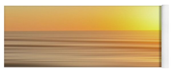 Beach Sunrise Blur Yoga Mat