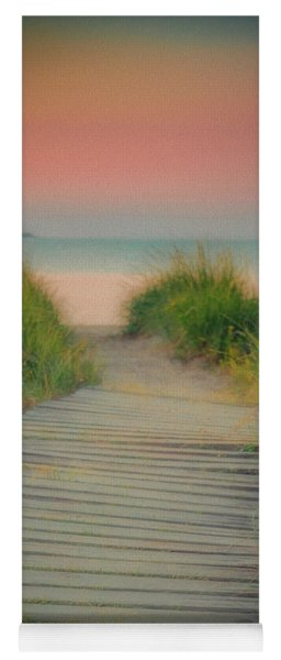 Beach Sunrise Yoga Mat