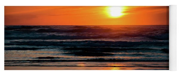 Beach Sunset Yoga Mat