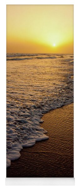 Beach Sunset Yoga Mat