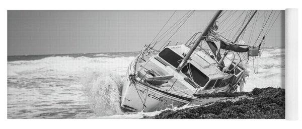 Beached Boat Yoga Mat