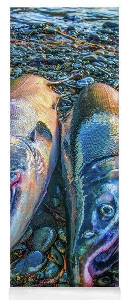Beached Coho Yoga Mat