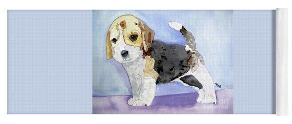 Beagle Pup Yoga Mat