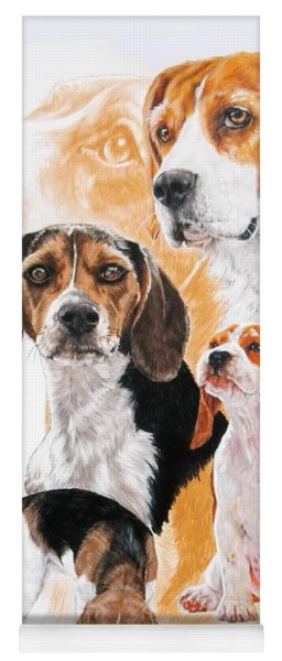 Beagle Hound Medley Yoga Mat