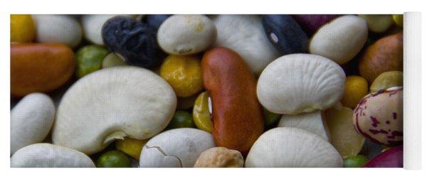 Beans Of Many Colors Yoga Mat