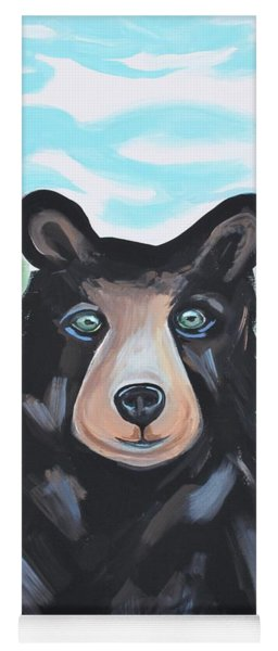 Bear In The Woods Yoga Mat