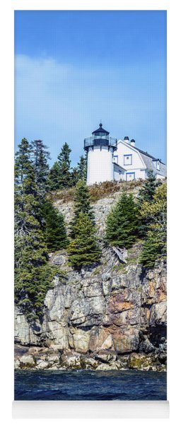 Bear Island Lighthouse Yoga Mat