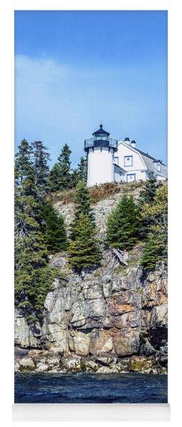 Bear Island Lighthouse Yoga Mat