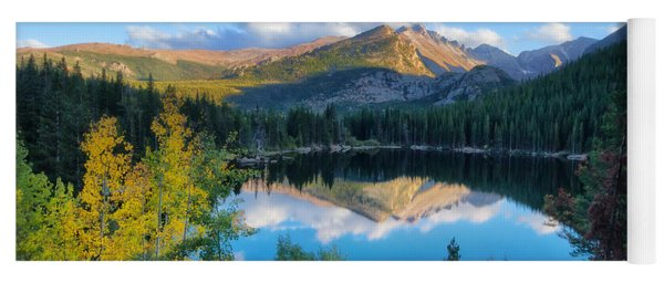 Bear Lake Reflection Yoga Mat