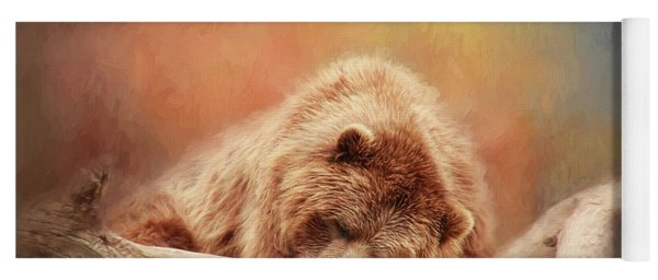 Bearly Asleep Yoga Mat