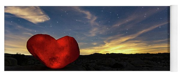 Beating Heart Yoga Mat