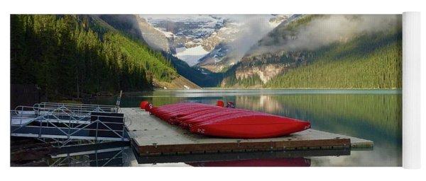 Beautiful Banff Yoga Mat