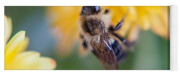Beautiful Bee Yoga Mat