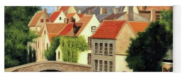 Beautiful Bruges Yoga Mat