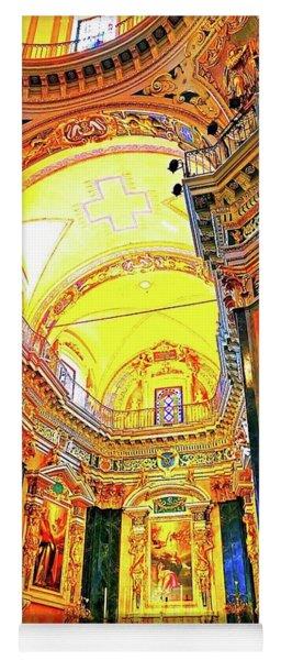 Beautiful Church In Nizza Yoga Mat