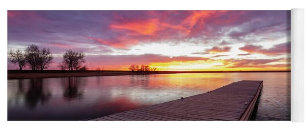 Beautiful Colorado Sunrise  Yoga Mat