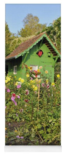 Beautiful Colorful Flower Garden Yoga Mat