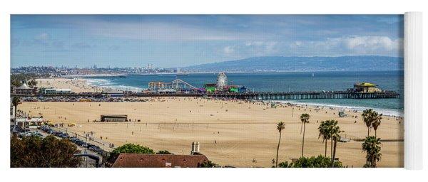 Beautiful Day At The Pier - Panorama Yoga Mat