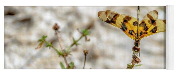 Beautiful Dragonfly Yoga Mat
