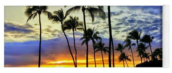 Beautiful Maui Hawaii Sunset Yoga Mat