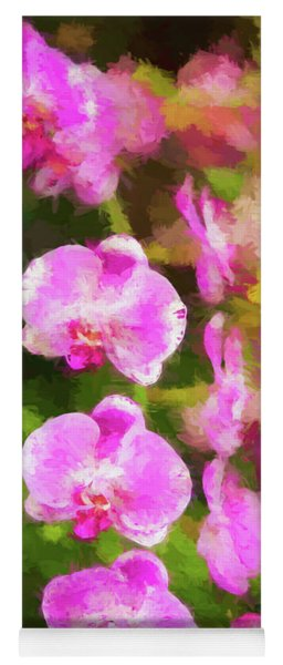 Beautiful Orchids Yoga Mat