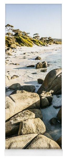 Beautiful Untouched Seaside Yoga Mat