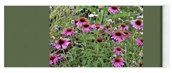 Beauty In The Flower Garden Yoga Mat