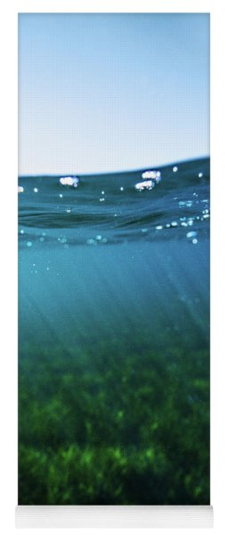 Beauty Under The Water Yoga Mat