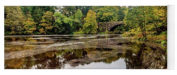 Beaver Bridge Autumn Yoga Mat