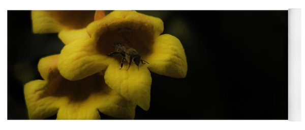 Bee In A Trumpet Yoga Mat