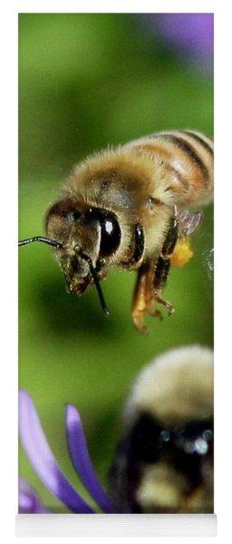 Bee In Flight  Yoga Mat