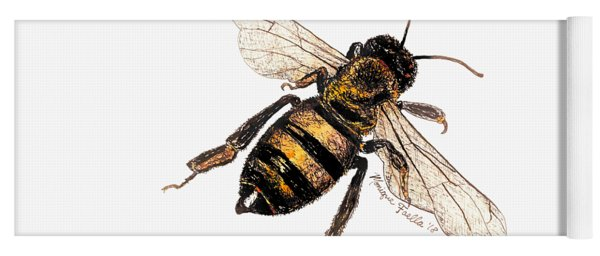 Bee Yoga Mat