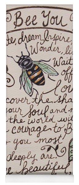 Bee You Yoga Mat