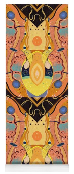 Bees Knees - T J O D 48 Arrangement Multiplied Yoga Mat