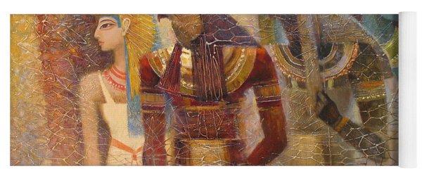Beginnings. Gods Of Ancient Egypt Yoga Mat