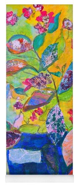 Begonias Yoga Mat